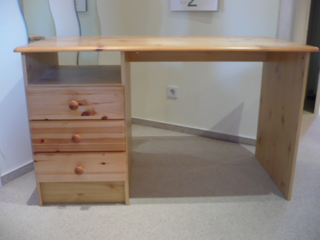 kiefern schreibtisch m bel haushalt kapellenweg. Black Bedroom Furniture Sets. Home Design Ideas
